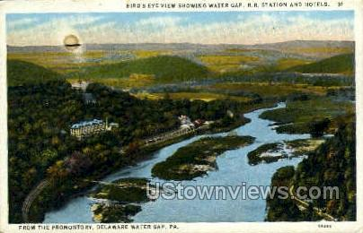 R.R.Station Delaware Water Gap - Pennsylvania PA Postcard