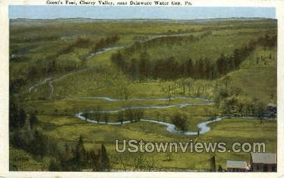 Giant's Foot - Delaware Water Gap, Pennsylvania PA Postcard