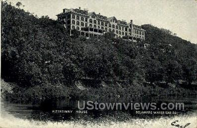 Kittatinny House - Delaware Water Gap, Pennsylvania PA Postcard