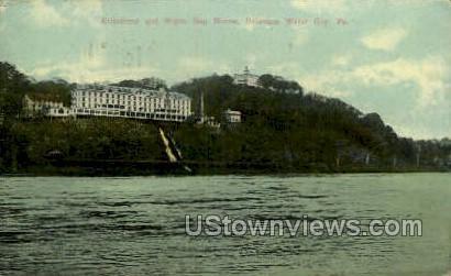 Kittatinny & Water Gap House - Delaware Water Gap, Pennsylvania PA Postcard