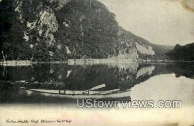 Indian Ladder Bluff - Delaware Water Gap, Pennsylvania PA Postcard