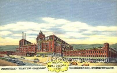 Stegmaier Brewing Co. - Wilkes-Barre, Pennsylvania PA Postcard