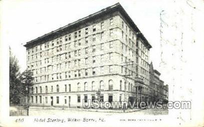 Hotel Sterling - Wilkes-Barre, Pennsylvania PA Postcard