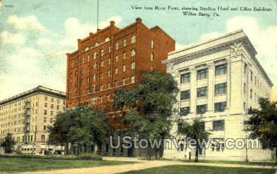 Sterling Hotel - Wilkes-Barre, Pennsylvania PA Postcard