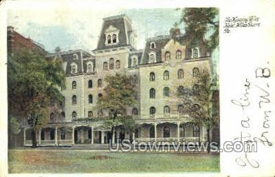 Wyoming Valley Hotel - Wilkes-Barre, Pennsylvania PA Postcard