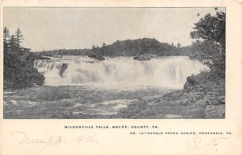 Wilsonville Falls PA