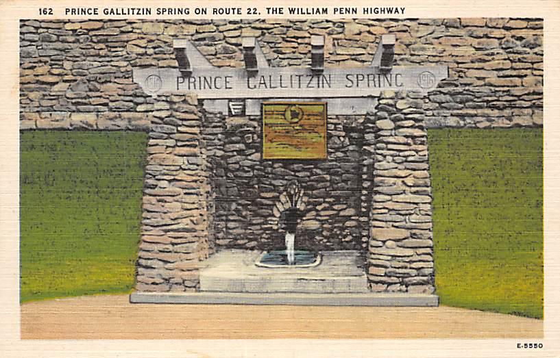 Gallitzin Spring PA