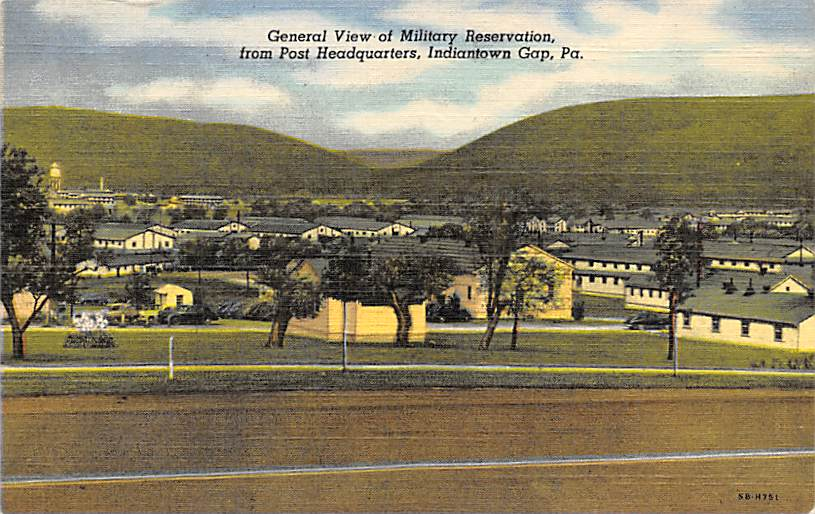 Indiantown Gap PA