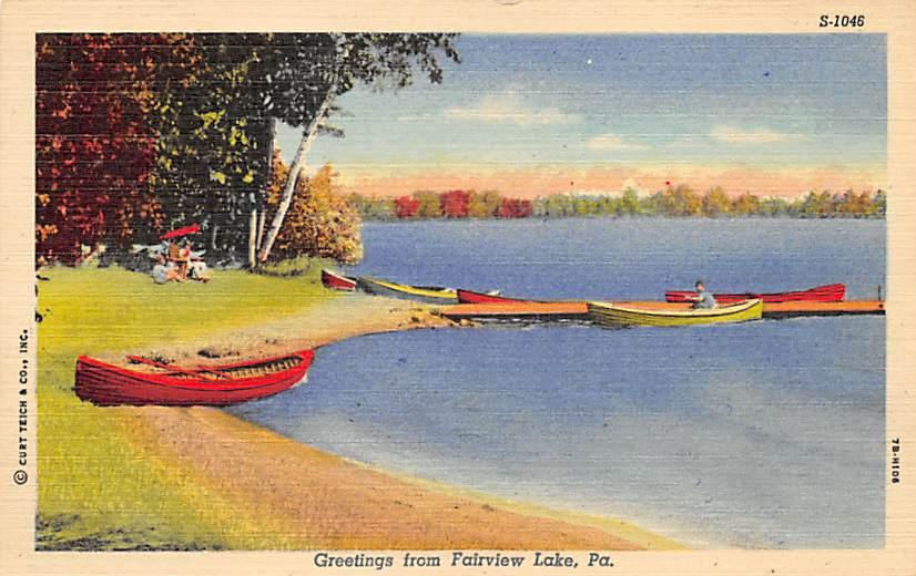 Fairview Lake PA