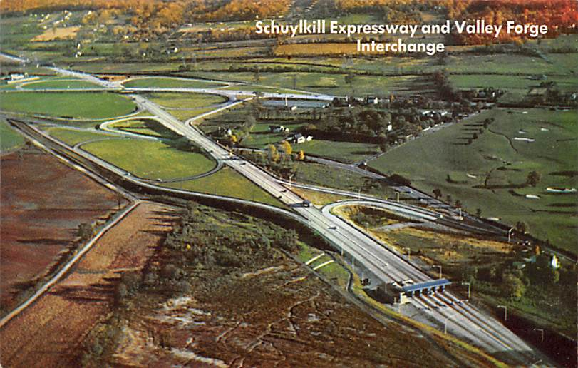 Valley Forge Interchange PA