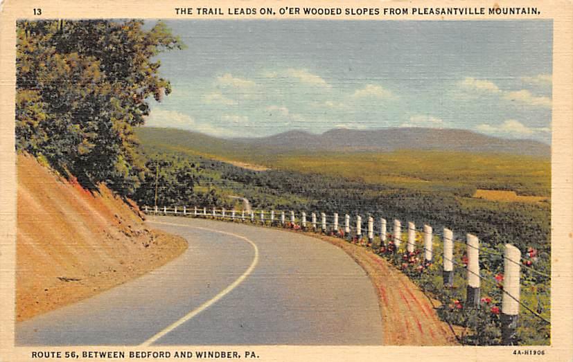 Pleasantville Mountain PA