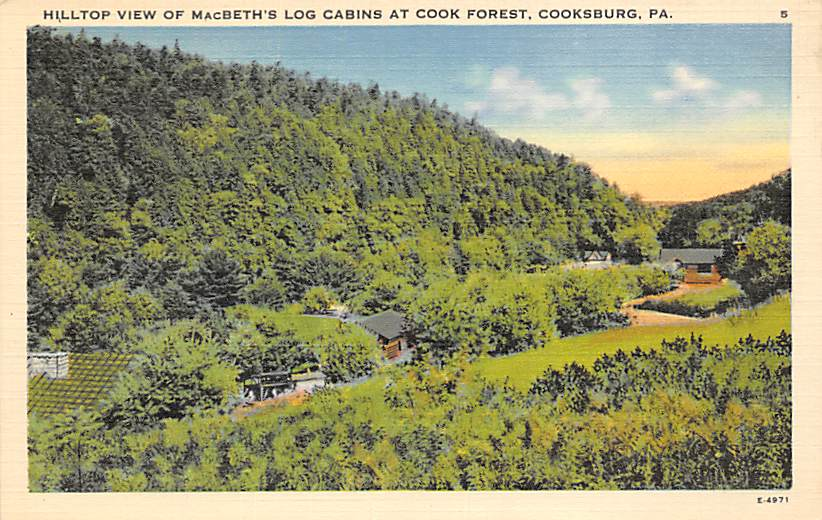 Cooksburg PA