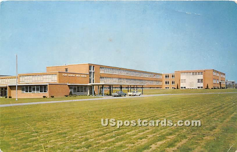 York Catholic High School - Pennsylvania PA Postcard