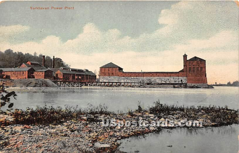 Yorkhaven Power Plant - Pennsylvania PA Postcard