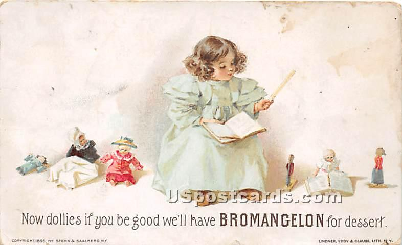 Bromangelon - York, Pennsylvania PA Postcard