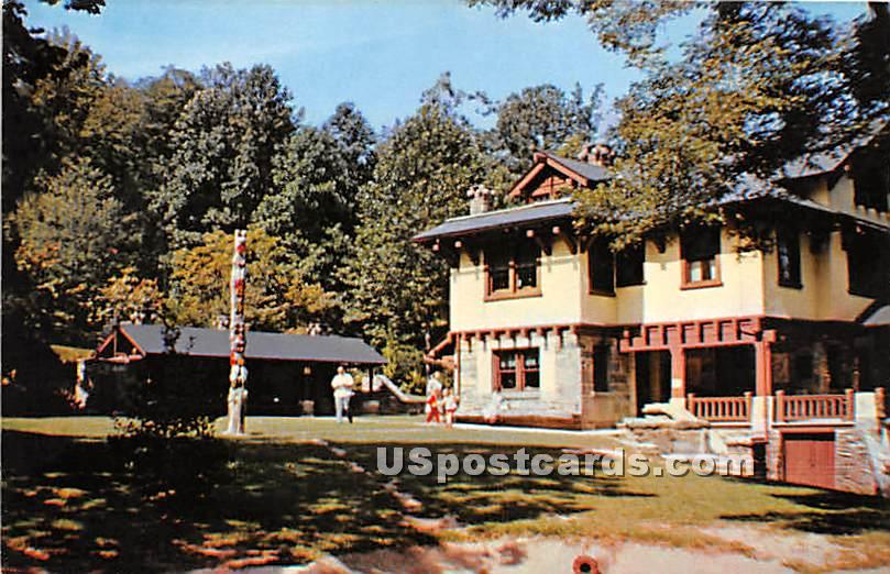 Indian Steps Museum - York County, Pennsylvania PA Postcard