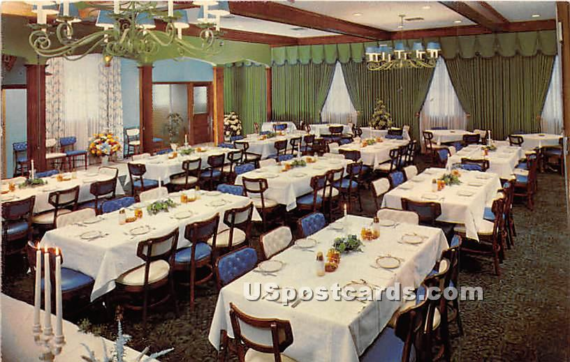 Sportsman Mediterranean Room - York, Pennsylvania PA Postcard