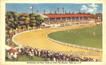 York Fair Grounds - Pennsylvania PA Postcard