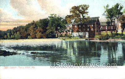 Lauck's Dam - York, Pennsylvania PA Postcard