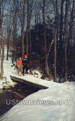 Buck Hill Falls, Pennsylvania, PA, Postcard