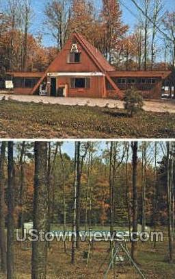 Kinzua East - Bradford, Pennsylvania PA Postcard