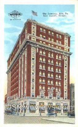 The Lawrence - Erie, Pennsylvania PA Postcard