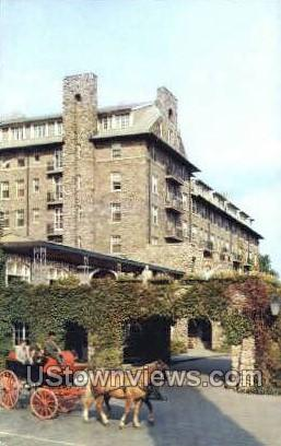 Buck Hill Inn & Golf Club - Buck Hill Falls, Pennsylvania PA Postcard
