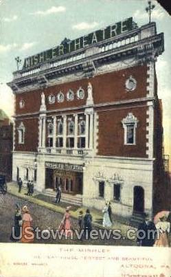 The Mishler - Altoona, Pennsylvania PA Postcard