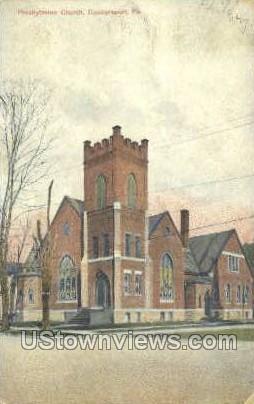 Presbyterian Church - Coudersport, Pennsylvania PA Postcard