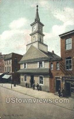 City Hall, Chester - Pennsylvania PA Postcard