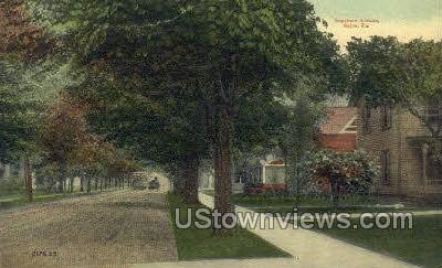 Keystone Ave. - Sayre, Pennsylvania PA Postcard