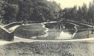 Pool, Deshong Park - Chester, Pennsylvania PA Postcard