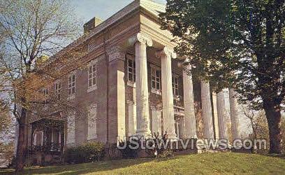 Banker Mansion - Bellwood, Pennsylvania PA Postcard