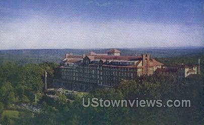 Buck Hill Falls - Pocono Mountains, Pennsylvania PA Postcard