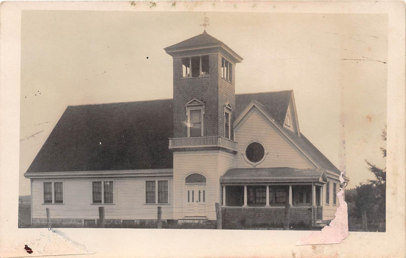 Church - Charlestown, Rhode Island RI Postcard