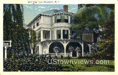 Hill Top Inn - Newport, Rhode Island RI Postcard
