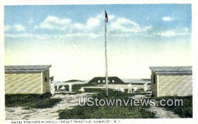 Naval Training School - Newport, Rhode Island RI Postcard