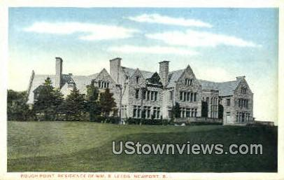 Rough Point Residence - Newport, Rhode Island RI Postcard