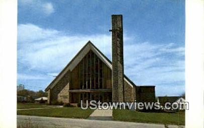 Woodridge Congregational Church - Cranston, Rhode Island RI Postcard