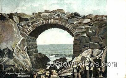 Bridge at Rough Point - Newport, Rhode Island RI Postcard