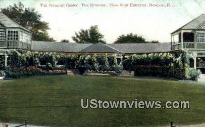 Newport Casino - Rhode Island RI Postcard