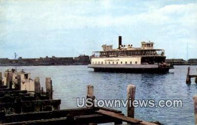 Jamestown Newport Ferry - Rhode Island RI Postcard