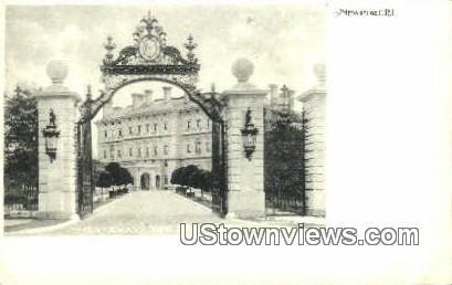 Gateway, The Breakers - Newport, Rhode Island RI Postcard