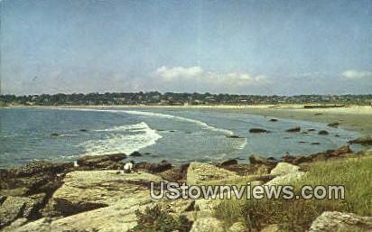 Easton's Beach - Newport, Rhode Island RI Postcard