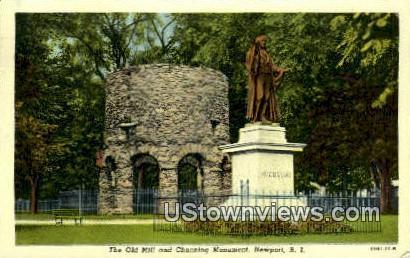 Old Mill - Newport, Rhode Island RI Postcard