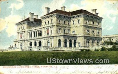 Cornelius Vanderbilt House - Newport, Rhode Island RI Postcard