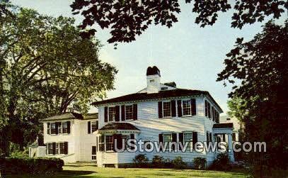 Gen James Mitchell Varnum House - East Greenwich, Rhode Island RI Postcard