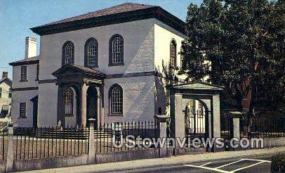 Touro Synagogue - Newport, Rhode Island RI Postcard