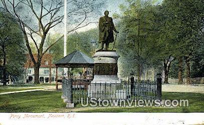 Perry Monument - Newport, Rhode Island RI Postcard