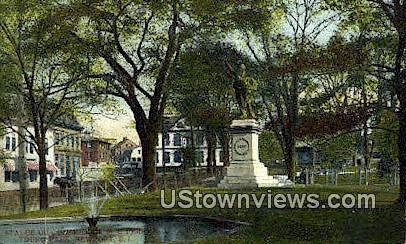 Touro Park - Newport, Rhode Island RI Postcard